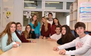 Alumnos del IENM compartiendo clases áulicas con los estudiantes de intercambio