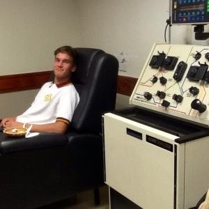 La donación de médula requiere la extracción de sangre para comprobar la compatibilidad en primera instancia.