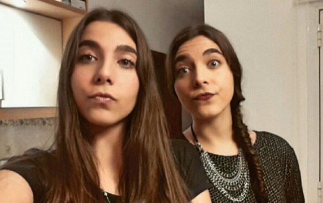 Leila y Nur Arbach, dos mellizas que prometen.