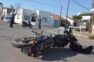 Las motos son uno de los rodados que más accidentes registran en las Sierras Chicas