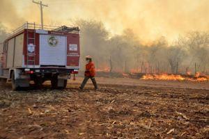Rige la prohibición de iniciar fuego en todo el territorio provincial. Las denuncias de estos episodios o de cualquier principio de incendio pueden hacerse ante la dependencia policial o de bomberos más próxima.
