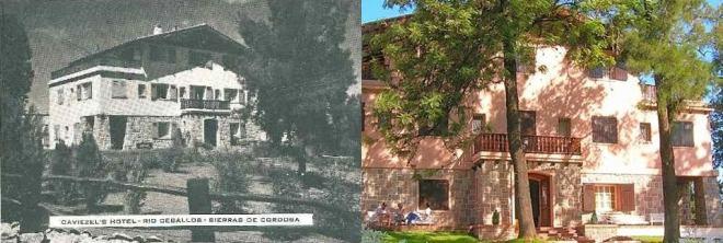 Antiguo hotel Caviezel's o Los Pinos, sobre Av. San Martín.
