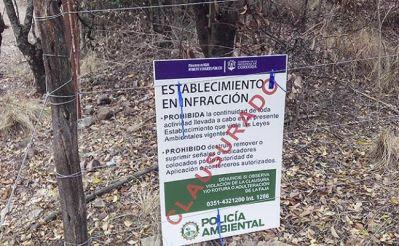 La medida de suspensión de loteos y obras pretende extenderse a todas las localidades serranas.