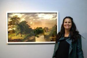 La artista viajó a Salsipuedes en diciembre 2014 con la idea de realizar una muestra sobre el paisaje de esta ciudad, pero tras las inundaciones que sufrió toda la zona en febrero el paisaje que ella había visto desapareció. De todas formas, la muestra se llevó a cabo en el mes de julio.