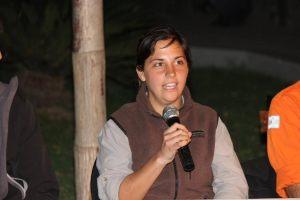 """""""Es todo nuevo, tiene sus cosas buenas y malas, pero se trata de la vocación que uno eligió. El adaptarte a nuevos lugares, y por sobre todo cuando se trata de áreas protegidas es el gran desafío"""", comentó Romina Domínguez a este medio."""